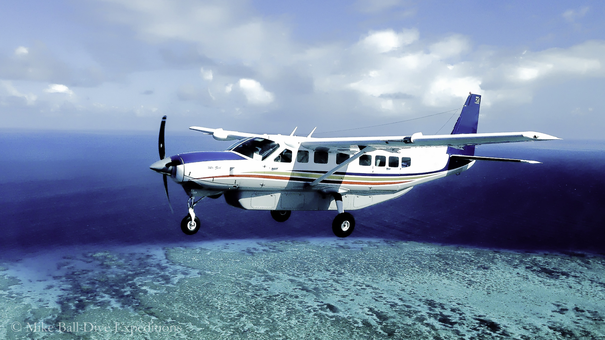 Take a low level scenic flight over the Reef to Lizard Island for a bird's eye view of some of the reefs you'll be diving. Captain Cook landed here in 1770, climbing to its peak to search for a way through the reefs and naming the island after the many monitor lizards that live here.