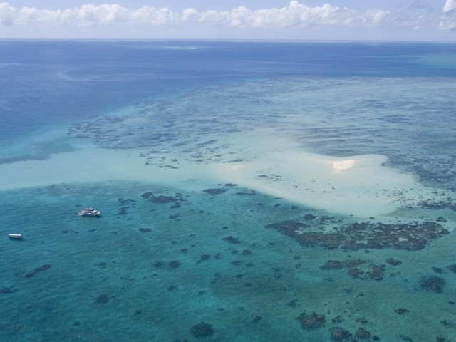 Exploring remote sand cayes and islands