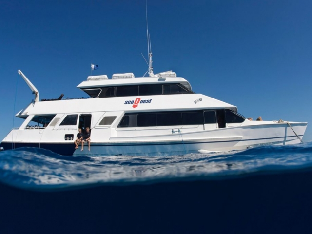 SeaQuest Budget Day Trips to the Outer Great Barrier Reef Our affordable day trip option packs all the fun of our sister vessels and also accommodates those transferring to our Liveaboard OceanQuest.